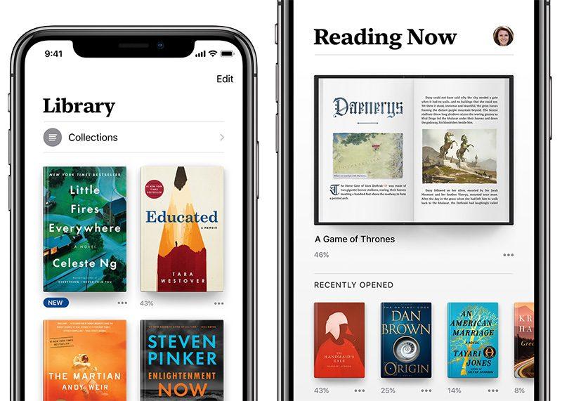Apple renames iBooks app to Apple Books