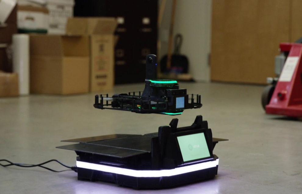 Vtrus launches drones to watch and protect your warehouses and factories